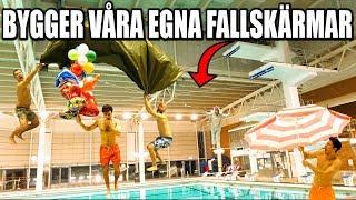 BYGGER VÅRA EGNA FALLSKÄRMAR