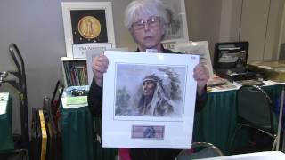 Numismatic Artist Sue Bauman Attends PCDA Currency Convention. VIDEO: 3:10.