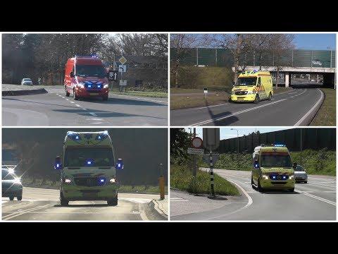 (160) Brandweer en diverse Ambulances met spoed in Blaricum!