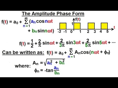 Electrical Engineering: Ch 18: Fourier Series (11 of 35) The ...
