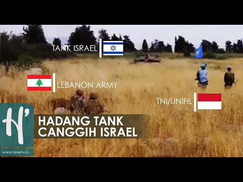 Aksi Heroik Prajurit TNI Cegah Perang Di Perbatasan Lebanon