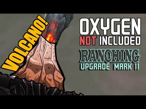 Uncovering the Copper Volcano! - Oxygen Not Included Gameplay - Ranching Upgrade Mark II