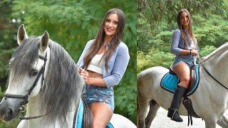 ⚡️ Code Hr3 Horse Riding Vamp | Sexy Girls Riding Horses - Miss Iris ⚡️