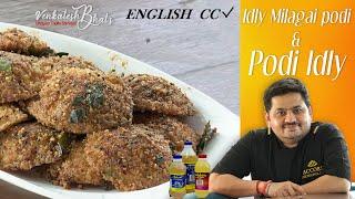 Venkatesh Bhat makes Idly Milagai Podi | podi idly |
