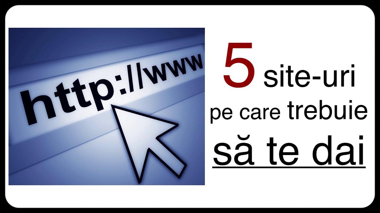 vreau să te dai pe site- ul web)