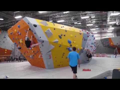 New Alaska Rock Gym