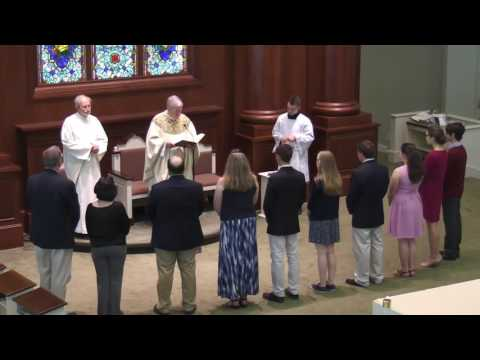 Installation of New Eucharistic Ministers