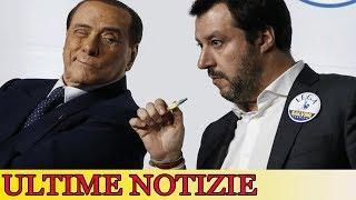 Salvini-Berlusconi, patto a Palazzo Grazioli