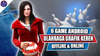 6 Game Android Olahraga Terbaik dengan Grafik Keren Offline & Online