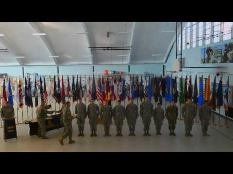 WIU Army ROTC German Armed Forces Proficiency Badge Closing Ceremony-November 2016