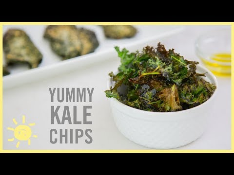 EAT | Yummy Kale Chips!