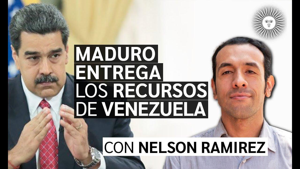 MADURO entrega los recursos de VENEZUELA al GLOBALISMO | NUEVO ORDEN MUNDIAL | Enterate con Nelson