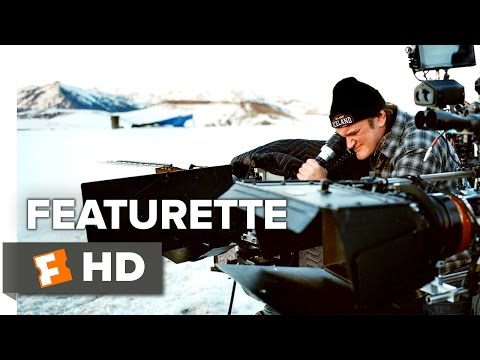 Quentin Tarantino and his cast talk The Hateful Eight's roadshow screenings