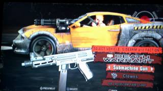 Twisted Metal PS3 : All Vehicles.
