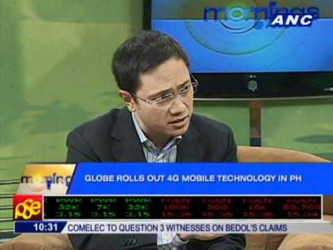 Tech Talk: Globe Rolls Out 4G Mobile Technology in PH