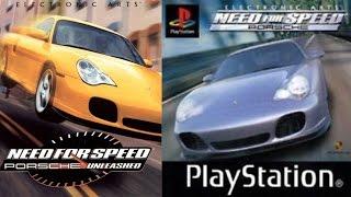 Need For Speed: Porsche Unleashed (2000) - Эксклюзивная версия для Playstation 1
