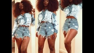 Vintage Daisy Dukes | OOTD (Thrifty Styling)
