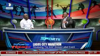 Reviewing 2018 Lagos City Marathon Pt 1 | Sports Tonight |
