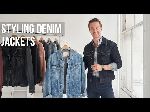 5 Different Styles of Denim Jackets for Men | Jean Jacket Outfit Ideas