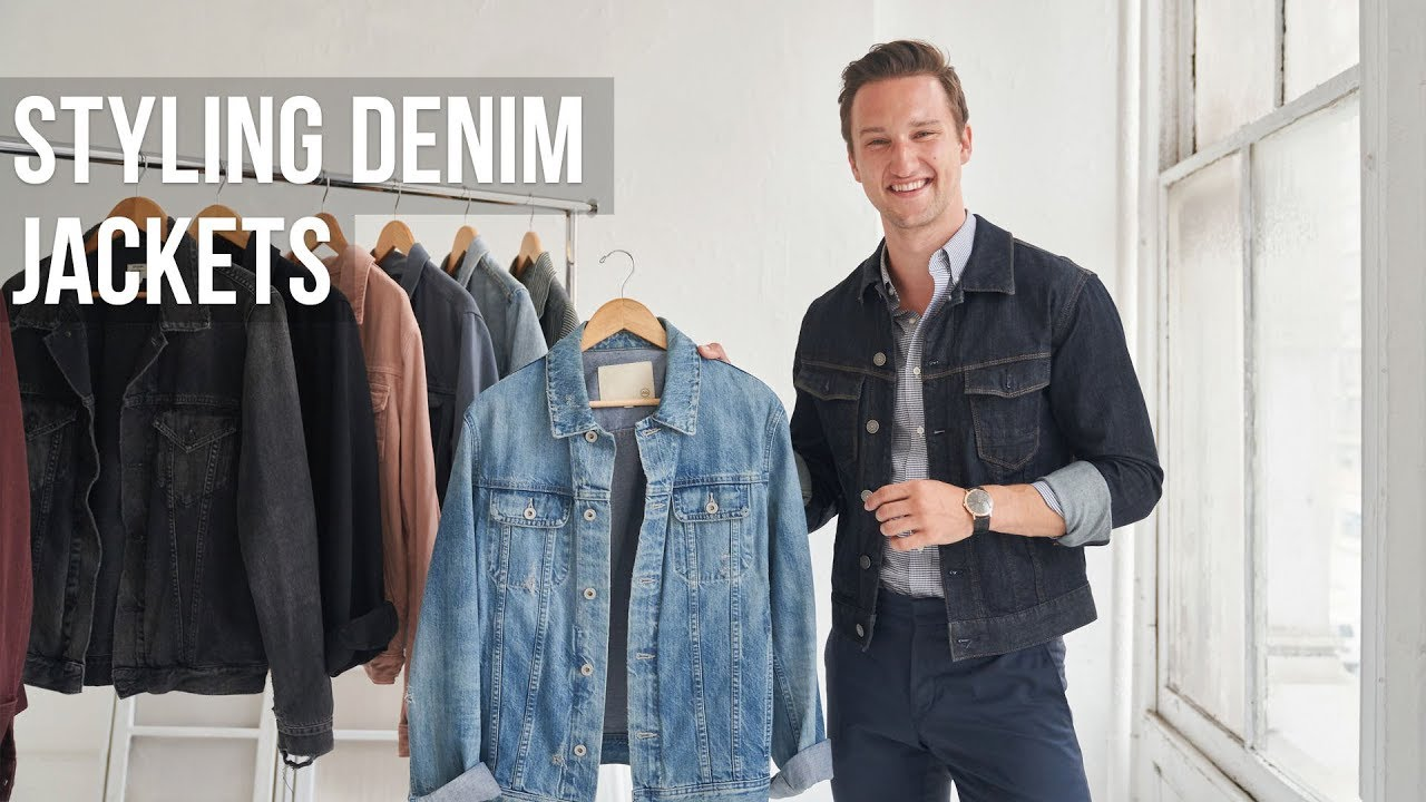 5 Different Styles Of Denim Jackets For Men Jean Jacket Outfit