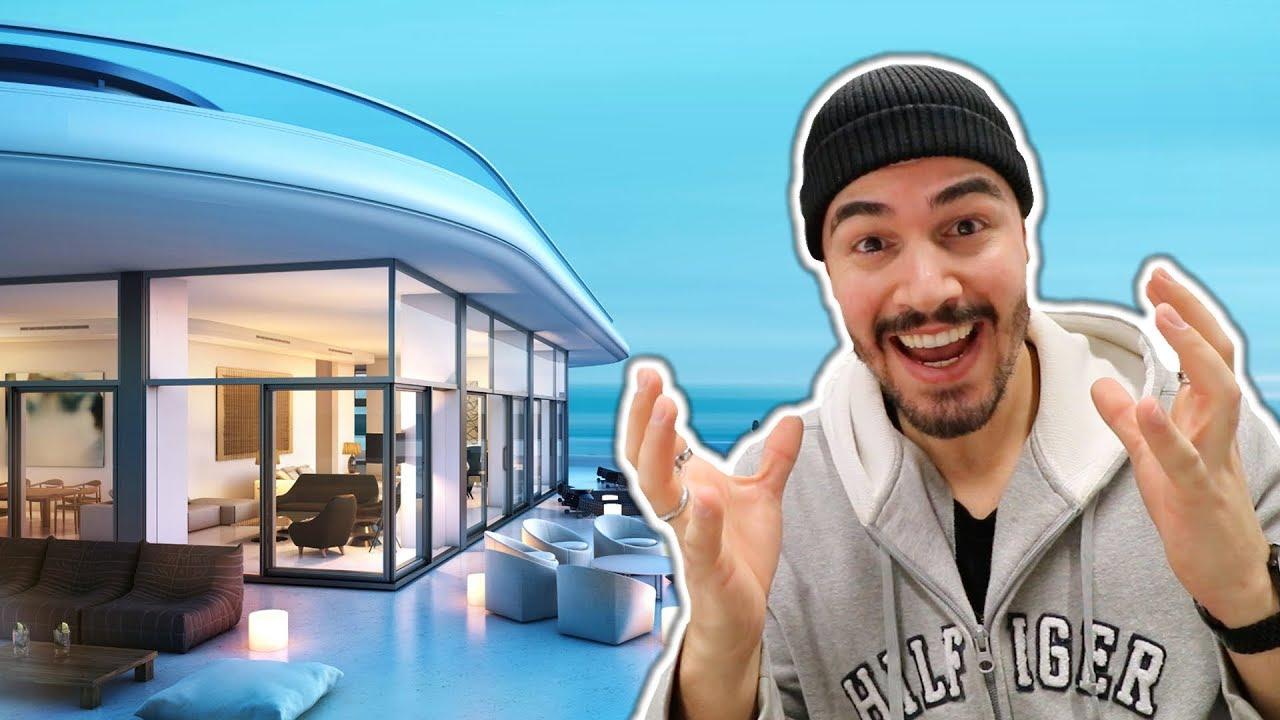 ich ziehe um neue luxus wohnung youtube. Black Bedroom Furniture Sets. Home Design Ideas