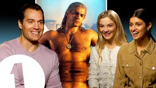 'It's very iconic!' The Witcher's Henry Cavill on *that* bath scene, Geralt's voice and meeting fans