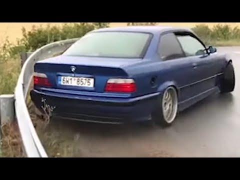 BMW E36 DRIFT!-E36 BURNOUT!-E36 2 STEP