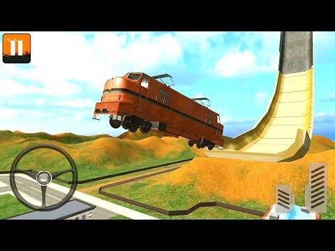Mega Ramp Impossible Stunts 3D - Craziest Mega Ramp Vehicles - Android Gameplay FHD