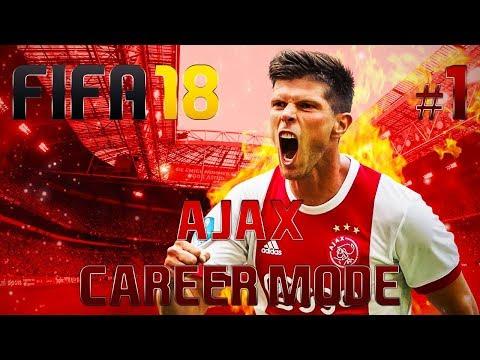 [Live] Fifa 18 - Ajax Career Mode - #1 LIVE START!