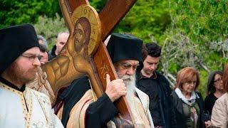 Αποκαθήλωση Εσταυρωμένου στη Μονή Οσίου Νικοδήμου Πενταλόφου-Eidisis.gr webTV