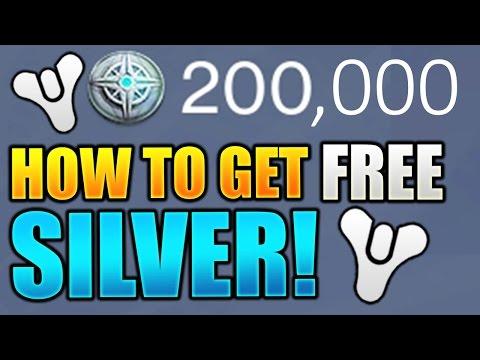 Destiny : How to Get Free Silver! (Appnana)