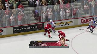 NHL 07 (X360) - Rangers vs Red Wings - Full Game [1080p HD]