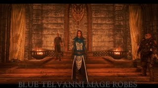 SkyrimMODReview - Blue Telvanni Mage Robes