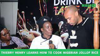 Find out if Thierry Henry is also 'Igwe' in the kitchen | Legit TV