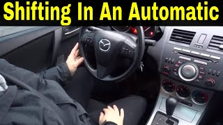 Driving An Automatic Car Like A Manual-Driving Lesson