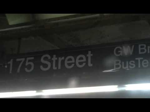 Ozone Park/Lefferts Blvd bound R46 (A) train ride