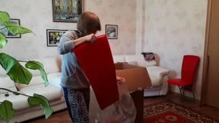 Обзор на стул кухонный красный Nowy Styl Amely Chrome Box-4, приобретенный в магазине Онлайнтрейд.ру