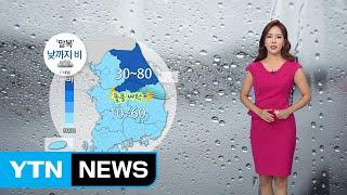[날씨] 내일 '말복' 오후까지 비...주말엔 맑음 / YTN