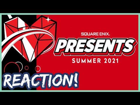 Square Enix Presents E3 2021 Live Reaction!