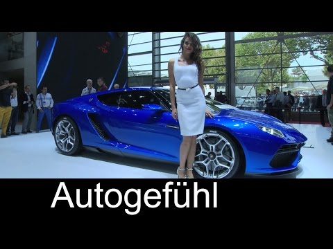 All-new Lamborghini Asterion LPI 910-4 Plugin-Hybrid concept world premiere - Autogefühl
