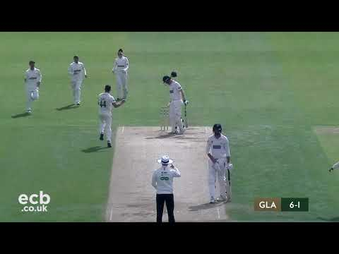 Leicestershire CCC v Glamorgan CCC Day 3 Highlights