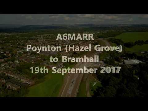 A6MARR - Poynton to Bramhall by air!
