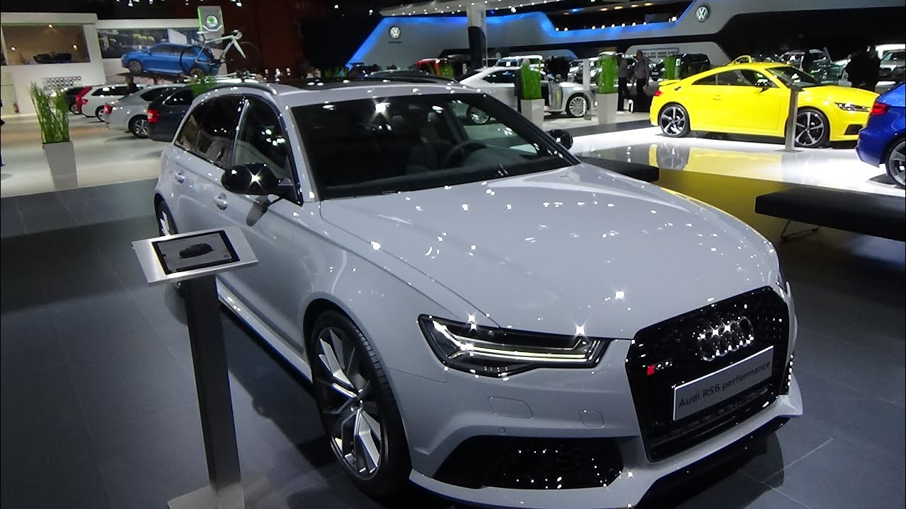 2016 audi rs6 performance exterior and interior auto show brussels 2016 youtube. Black Bedroom Furniture Sets. Home Design Ideas