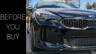 Watch This Before Buying a Kia Stinger