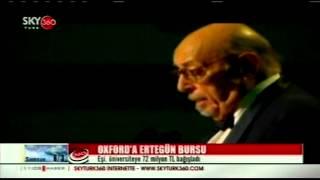 Mica Ertegün, ölen kocası Ahmet Ertegün adına Oxford Üniversitesi'ne Bagis