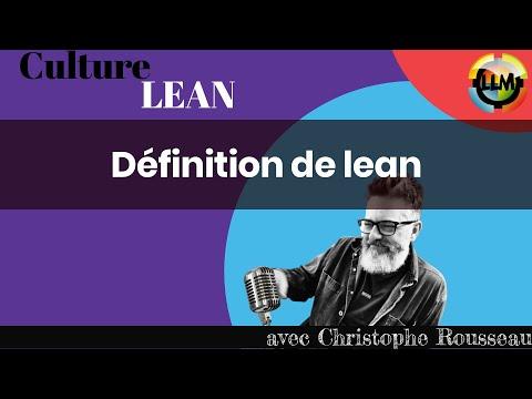 définition de lean
