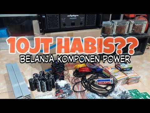 UNBOXING KOMPONEN POWER | OMBRO
