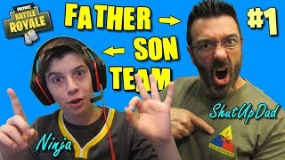 BEST Fortnite Father Son Duos Win Team / Giveaway / Road To 71k