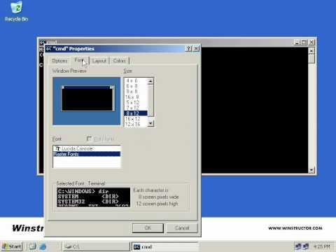 Windows shell scripting