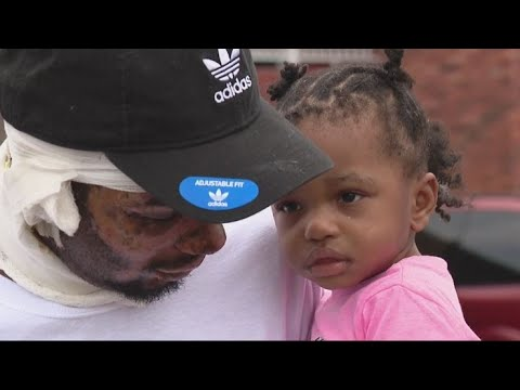 Heroic Father Saves His Twin Girls From House Fire, Family Loses Everything